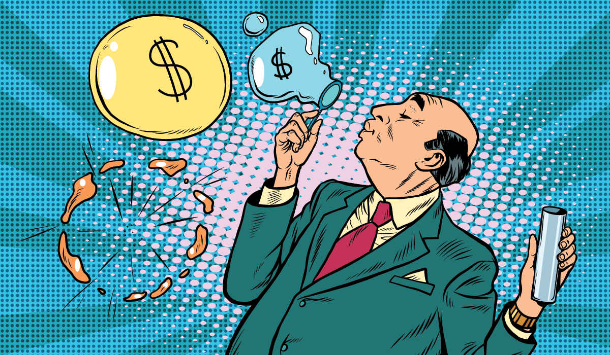 Who Makes Money From False Beliefs